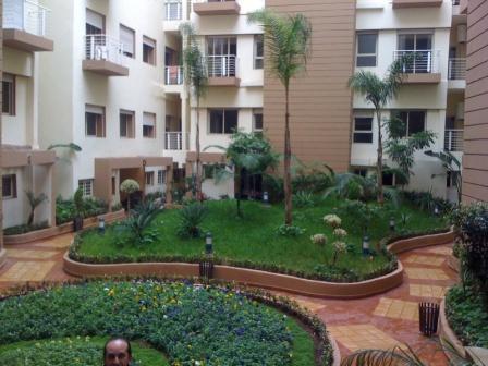 Vente appartement casablanca maroc residence les champs for Achat maison casablanca