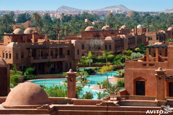 Villa Louer Marrakech Maroc Avec Piscine Location