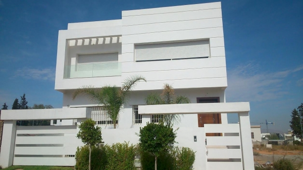 Photo Facade Villa Moderne. Good Fabulous Modle De Maison Serap ...