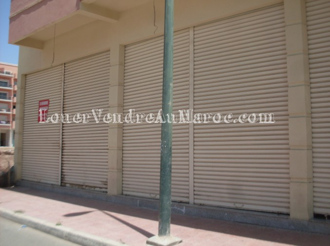 Moovimo agence immobili re marrakech 44049 - Facade local commercial ...