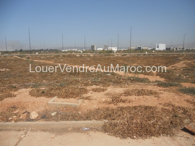 Vente terrain à Agadir