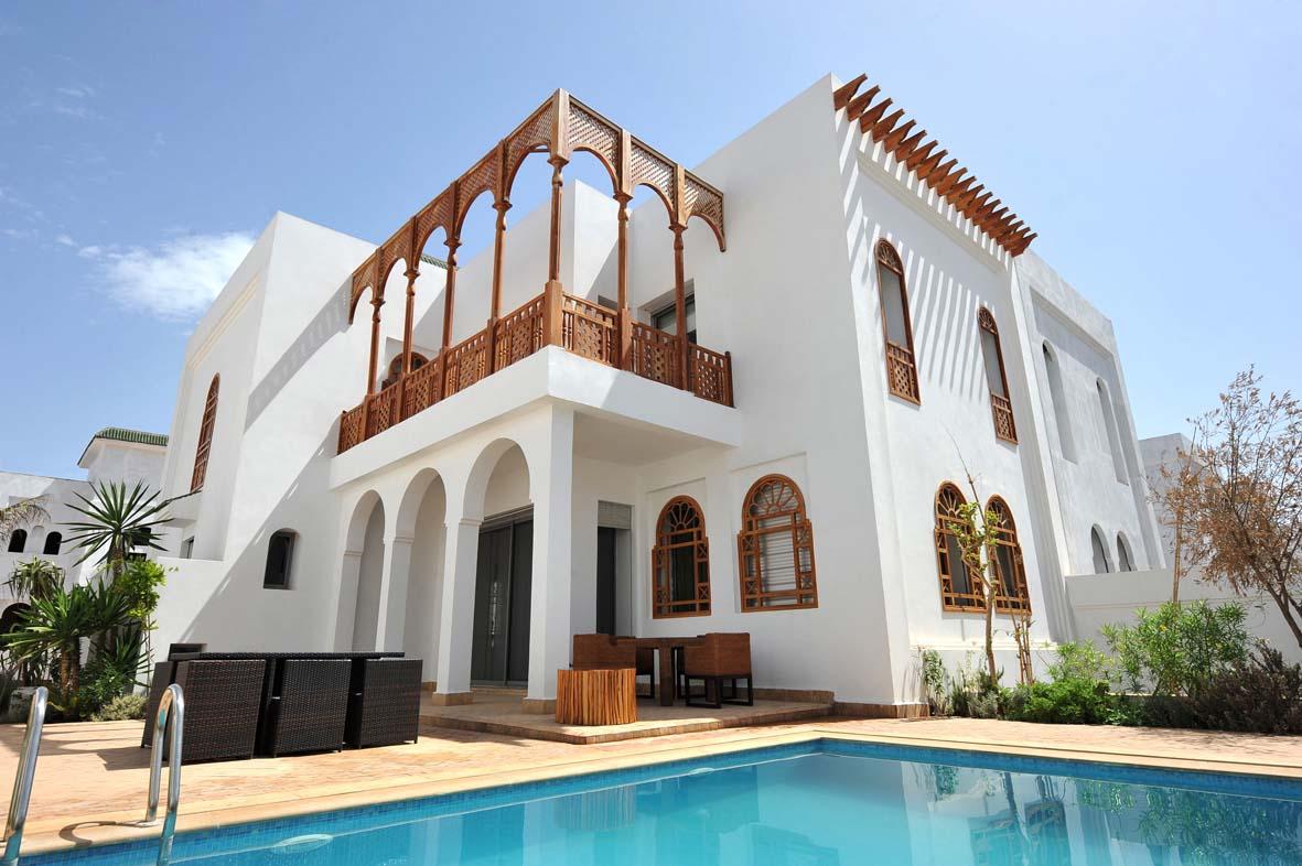 Facade Villa Au Maroc : Maison avec piscine au maroc gallery of louer une villa