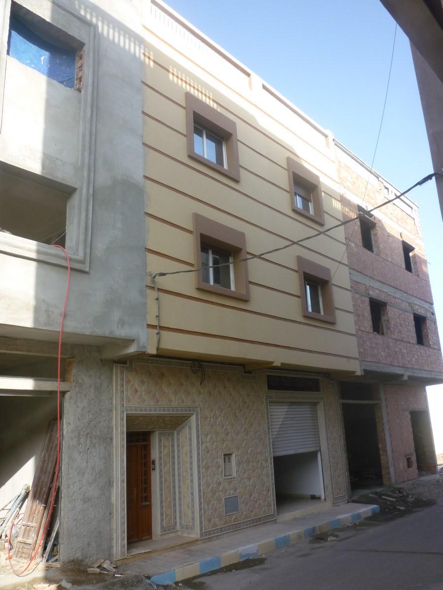 Facade Maison Maroc Maison Au Maroc 2 Plan De 8 Pices Et 96 M2 Maison Vendre Au Maroc Saidia