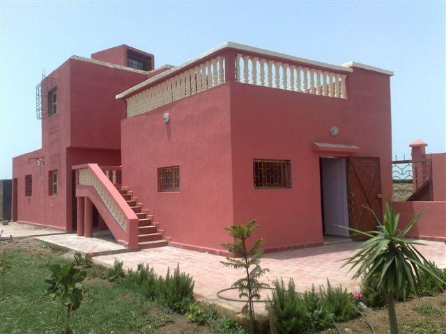 Maison de campagne vendre casablanca maroc vente for Construire une maison au maroc