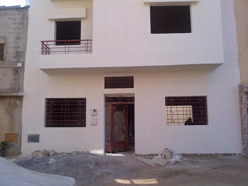 construction maison marocaine traditionnelle ventana blog. Black Bedroom Furniture Sets. Home Design Ideas