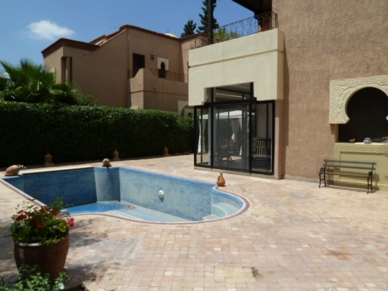 villa a marrakech a louer avec piscine - villa louer marrakech maroc avec piscine longue duree