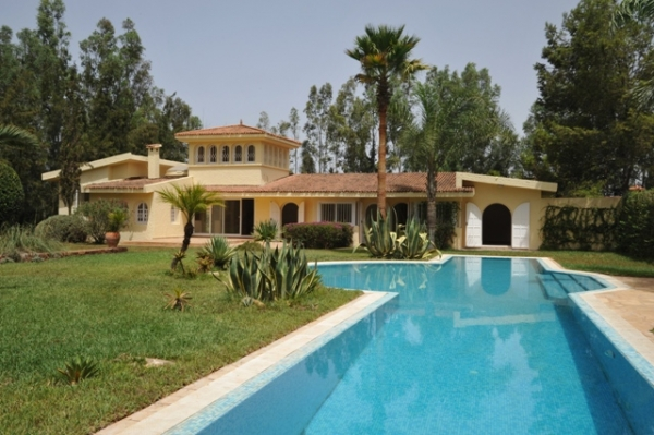 Location Villa  Casablanca Maroc Bouskoura Villa  Louer