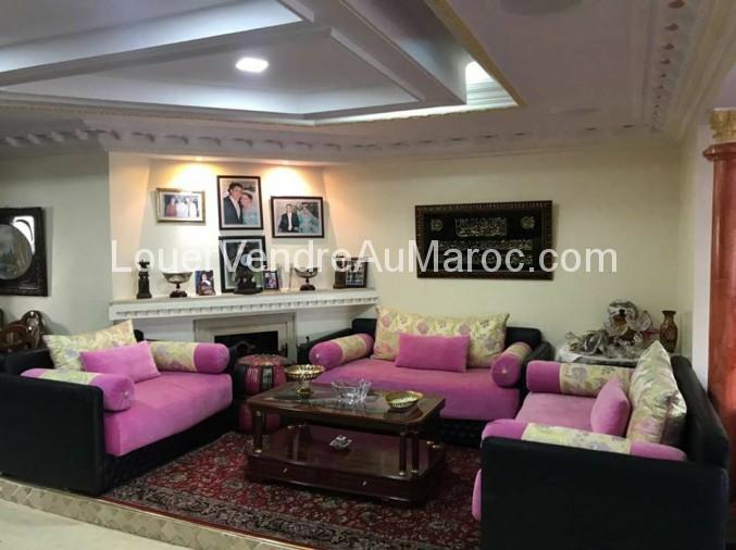 Vente appartement casablanca lajironde meubl 1 600 for Appartement meuble a casablanca courte duree