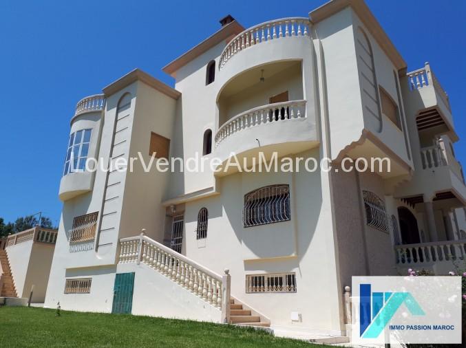 Villa à Vendre à Tanger Maroc Vente Villa à Tanger Pas Cher