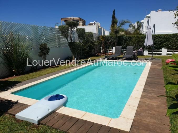 Location Villa Avec Piscine Casablanca